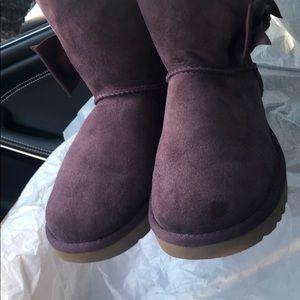 ad6be8e38ea Ugg Daelynn Boot purple size 6